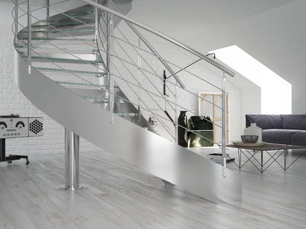 Modelos de Corrimão de Inox para Escadas